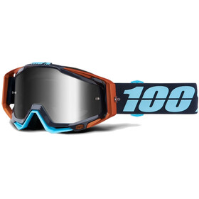 100% Racecraft Anti Fog Mirror goggles zwart